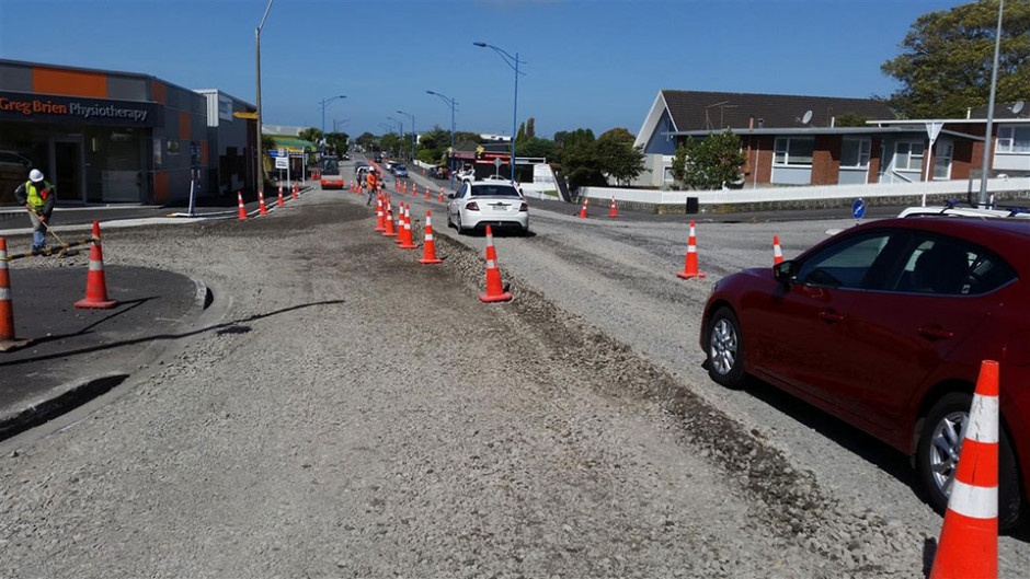 Road improvements in New Plymouth